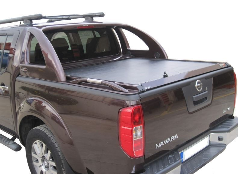 laderaumabdeckung wagenfarbe nissan navara d40 d c 165cm. Black Bedroom Furniture Sets. Home Design Ideas